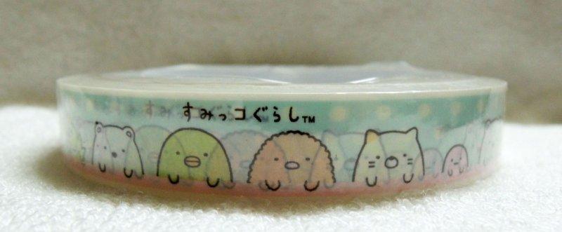 Image 1 of San-X Sumikko Gurashi Deco Tape Masking Tape #7 (DM0215)