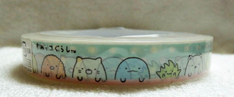 Image 2 of San-X Sumikko Gurashi Deco Tape Masking Tape #7 (DM0215)