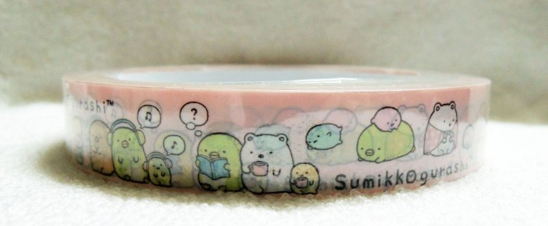 Image 2 of San-X Sumikko Gurashi Deco Tape Masking Tape #8 (DM0216)