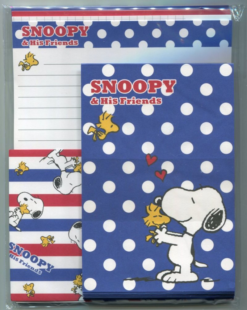 Image 0 of Peanuts Snoopy 4 Design Letter Set #26 (L1282)