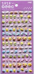 Crux Chima Chima Friends Animal Petit Mark Sponge Sticker Sheet #4 (I1594)