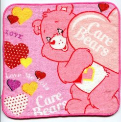Thumbnail of Care Bears Face Towel Wash Cloth #7 (T0609)