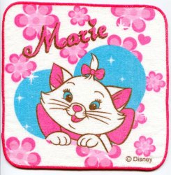 Thumbnail of Disney Marie The Aristocats Cat Face Towel Wash Cloth #13 (T0630)