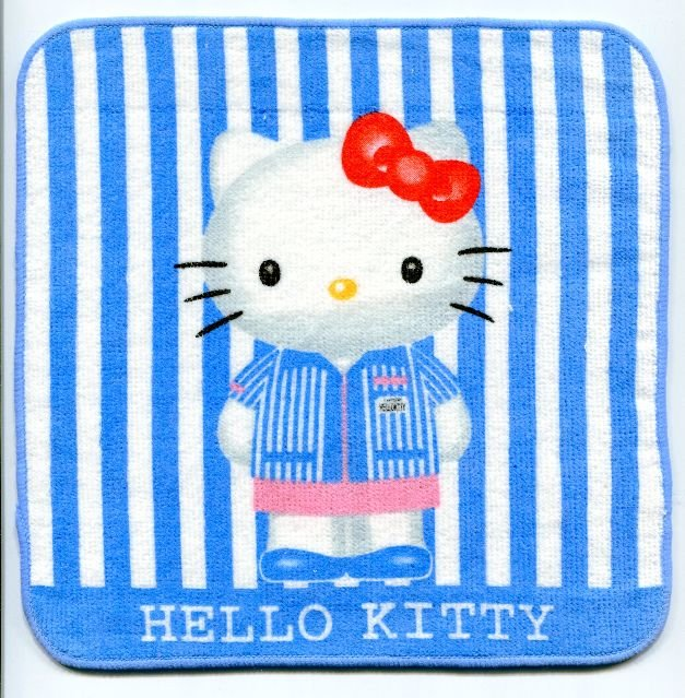 Image 0 of Sanrio Hello Kitty Face Towel Wash Cloth #34 (T0650)