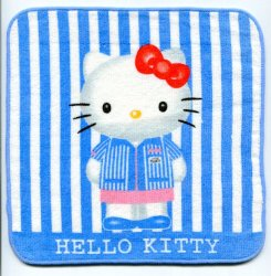 Thumbnail of Sanrio Hello Kitty Face Towel Wash Cloth #34 (T0650)