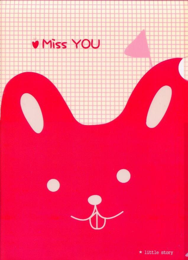 Image 0 of Gimen Hello Tommy Rabbit A4 Plastic File Folder #1
