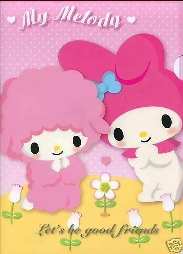Image 0 of Sanrio My Melody A4 Plastic File Folder #22