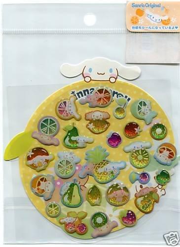 Image 0 of Sanrio Cinnamoroll Fruit Sticker Sheet #2 (I0581)