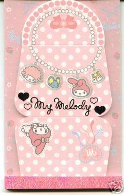 Image 0 of Sanrio My Melody Hand Bag Shape Memo Pad #1 (M0422)