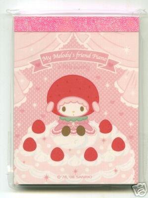 Image 0 of Sanrio My Melody 2 Design Mini Memo Pad #4 (M0600)