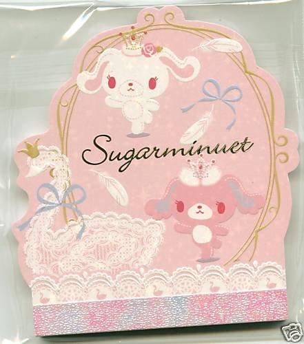 Image 0 of Japan Sanrio Sugarminuet Die Cut Memo Pad #1 (M0656)