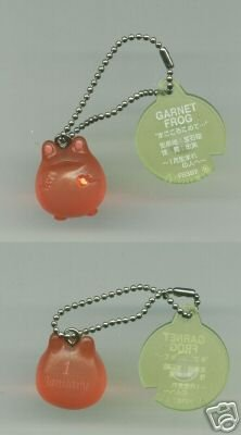 Image 0 of Japan Frog Style Birth Stone Collection Keychain #1 (K0613)