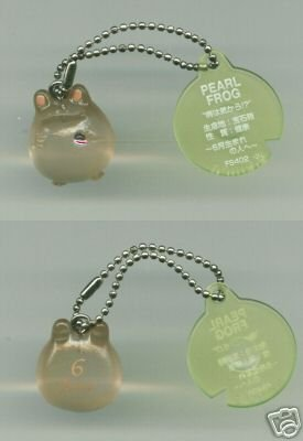 Image 0 of Japan Frog Style Birth Stone Collection Keychain #6 (K0618)