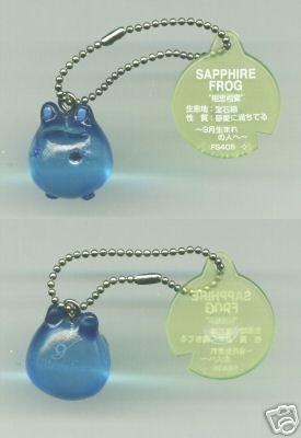 Image 0 of Japan Frog Style Birth Stone Collection Keychain #9 (K0621)