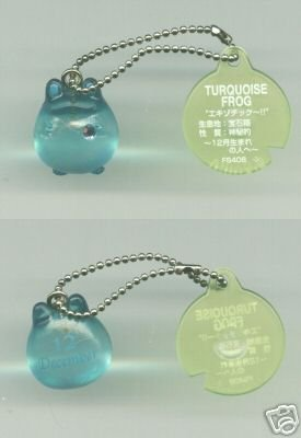 Image 0 of Japan Frog Style Birth Stone Collection Keychain #12 (K0624)