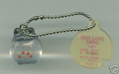 Image 0 of Japan Frog Style Love & Sweets Compilations Collection Keychain #1 (K0737)