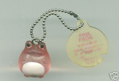 Image 0 of Japan Frog Style Love & Sweets Compilations Collection Keychain #4 (K0740)