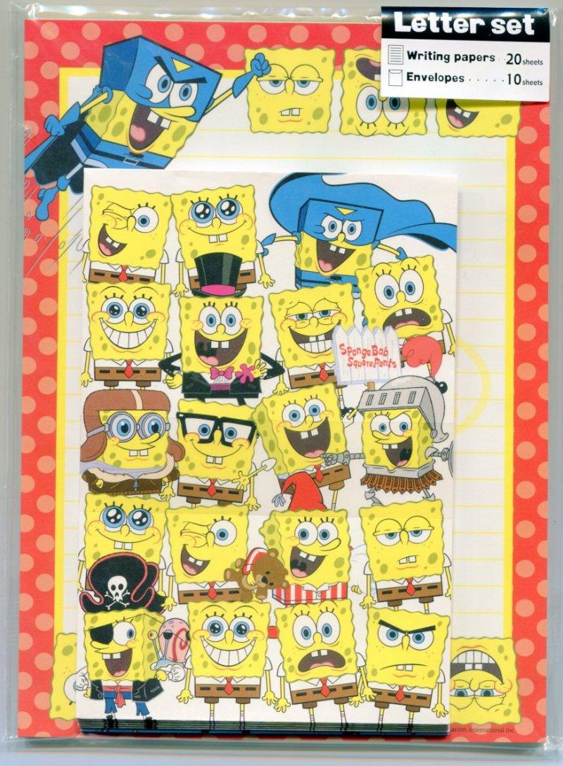 Image 0 of SpongeBob and SquarePants 2 Design Letter Set #3 (L0734)