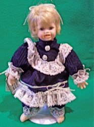 Thumbnail of ANGEL (January) Fritz's Basket Baby by Wimbledon Collection