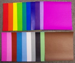 Thumbnail of ASSORTED COLOR KAMI - 3 ORIGAMI PAPER (K) (500 Sheets)