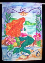 Thumbnail of LITTLE MERMAID POLYESTER FLAG