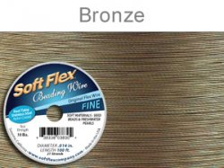 Thumbnail of SoftFlex.014/30Bronze - SoftFlex .014 bronze wire, 21 strands - 30 feet