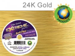 Thumbnail of SoftFlexExt.019/30Gold - SoftFlex .014 Gold wire, 19 strands - 30 feet