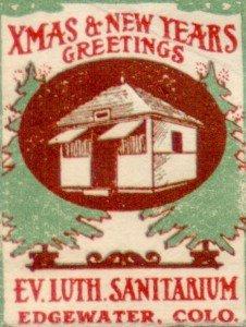 Lutheran Christmas TB Charity Seal