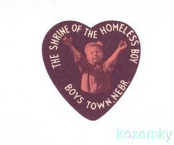Boys Town 22.1, 1936 Boys Town Charity Seal, F, NG, NH