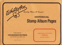 Thumbnail of Christmas on Stamps, White Ace Album Pages