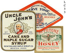 Vintage General Store Label Collection, 100 Assorted