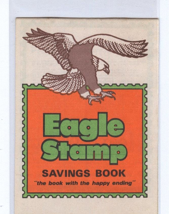 Eagle Trading Stamp Savings Book