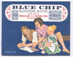 Thumbnail of Blue Chip Trading Stamps Savings Book, Mint