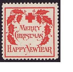 1907-2, WX2, 1907 U.S. Red Cross Christmas Seal, Type 2