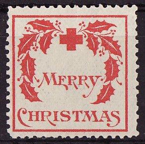 1907-1, WX1, 1907 U.S. Red Cross Christmas Seal, Type 1, F