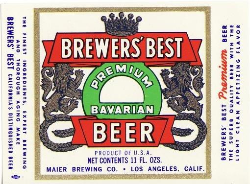 Brewer's Best Bavarian Beer Label