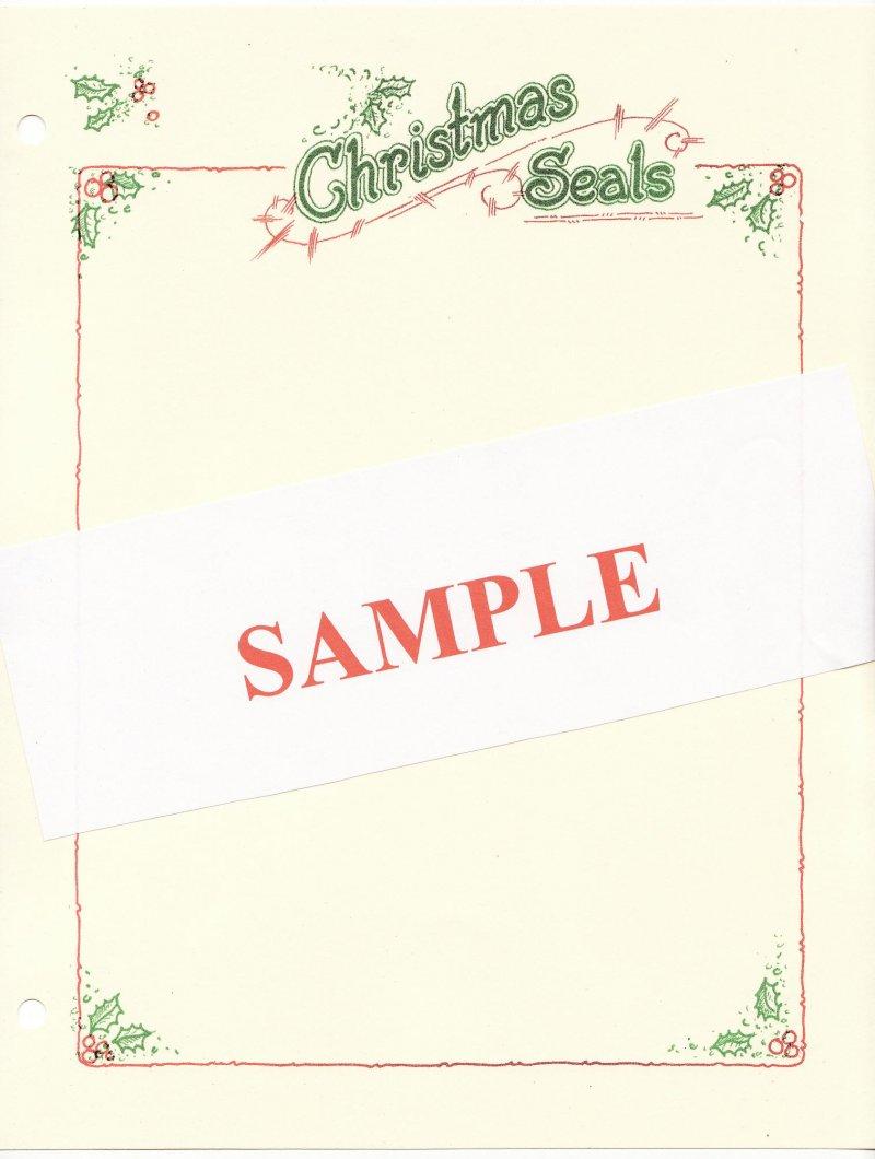 Green's Catalog, TB Seals of the World, Part 1, U.S. National Christmas Seals, 2014 ed., CD