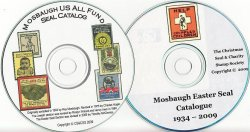 Thumbnail of Mosbaugh's U.S. All Funds & Easter Charity Seal Catalogs, 2 Vol. CD Set