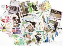 Thumbnail of Cuba Stamp Packet, 1000 diff.