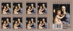 Thumbnail of U.S. 4570, Madonna of the Candelabra, 2011 Christmas Stamps, Pane/20, MNH