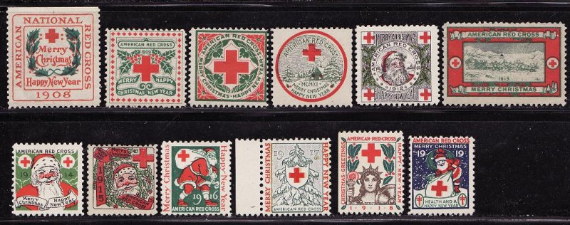 U.S. Red Cross Christmas Seal Collection, 1908-19