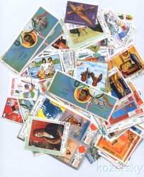 Thumbnail of Olympics Topical Stamp Packet,  300 diff.