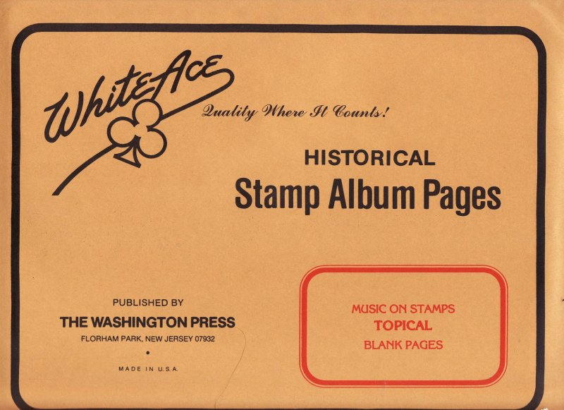 Music on Stamps, White Ace Album Pages