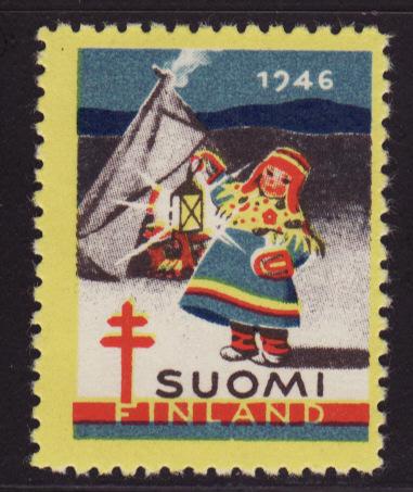 Finland 23.2, 1946 Finland TB Charity Seal