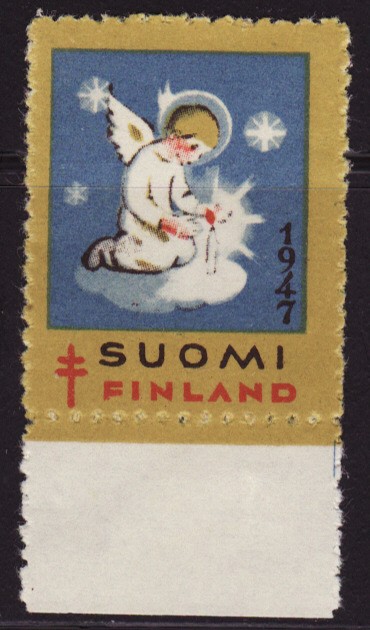 Finland 24.1, 1947 Finland TB Charity Seal