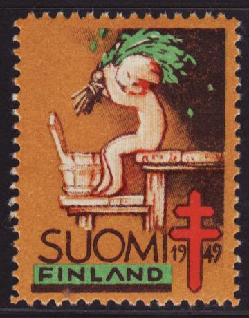 Finland 26, 1949 Finland TB Charity Seal