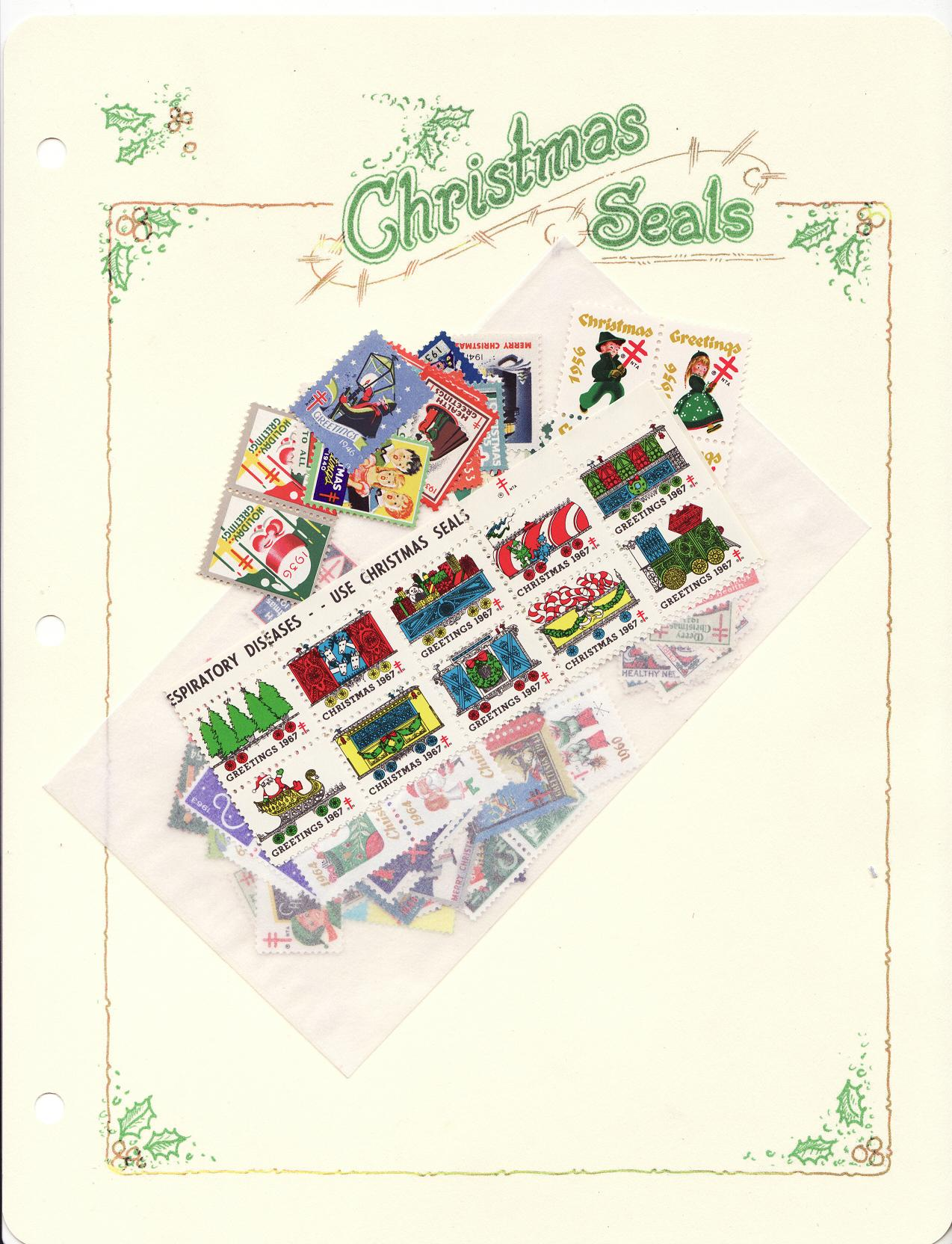 Green's Catalog, TB Seals of the World, Part 1, U.S. National Christmas Seals, 2014 ed., CD