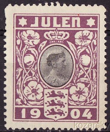 1904 Denmark TB Charity Seal