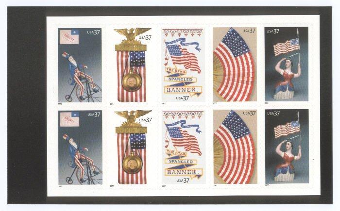 U.S. BK294, Old Glory Prestige Booklet, 3776-80