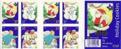 Thumbnail of U.S. 3956b, Holiday Cookies, 2005 Christmas Stamps, bklt/20, MNH
